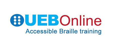 UEBOnline Accessible Braille Training Logo